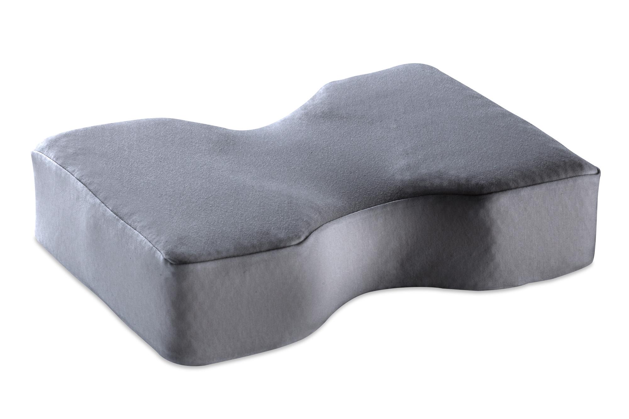 Sanapur Kopfkissenbezug Grau 100% Baumwolle